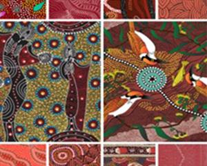 Australian Made Aboriginal Designed Fabric Quilting Pre-cuts