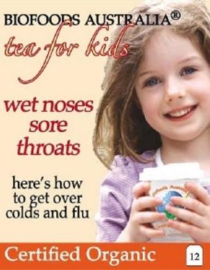 Tea for Kids - Wet Noses Sore Throats